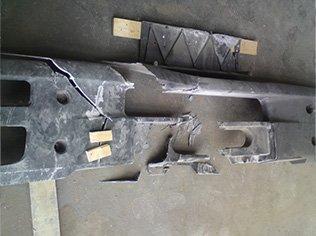 ремонт заднего бампера